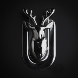Deer wallet money clipper billfold