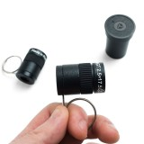Miniature Telescope Keychain