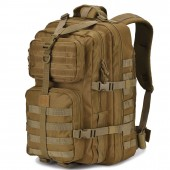 DIGBUG Military Tactical Backpack Large Army 3 Day Assault Pack Molle Bug Bag Backpacks Rucksacks for Outdoor Sport Hiking Camping Hunting 40L Tan